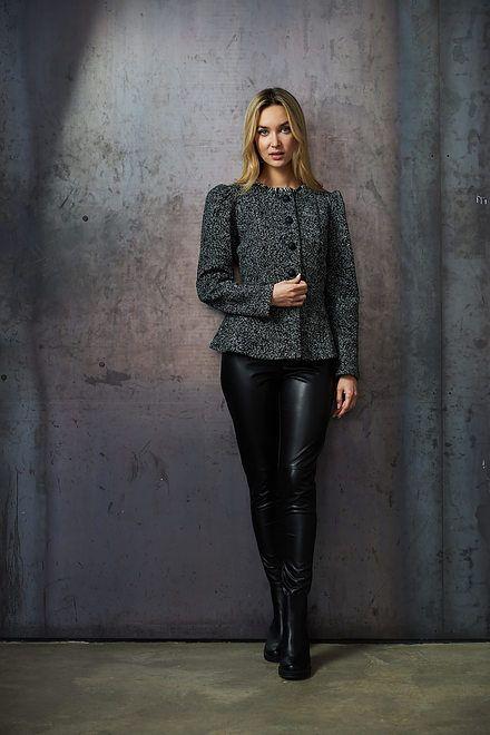 Joseph Ribkoff Black/White Blazers Style 213463