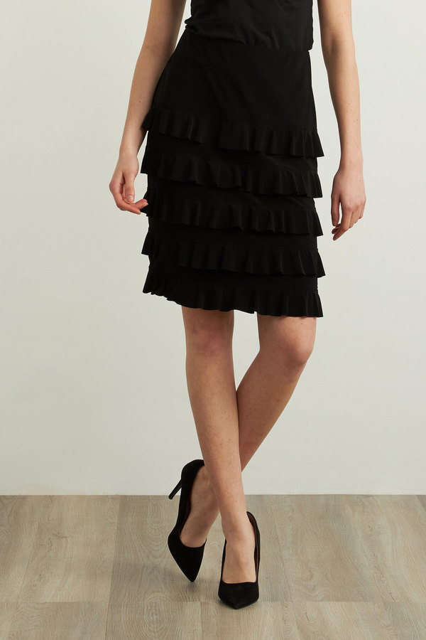 Joseph Ribkoff Black Skirts Style 213561