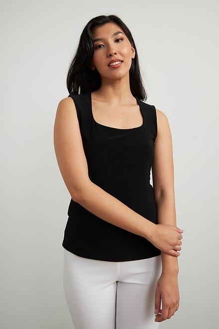 Joseph Ribkoff Tee-shirts et camisoles Noir Style 213570