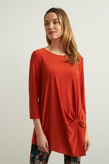 Joseph Ribkoff Knotted Front Top Style 213584