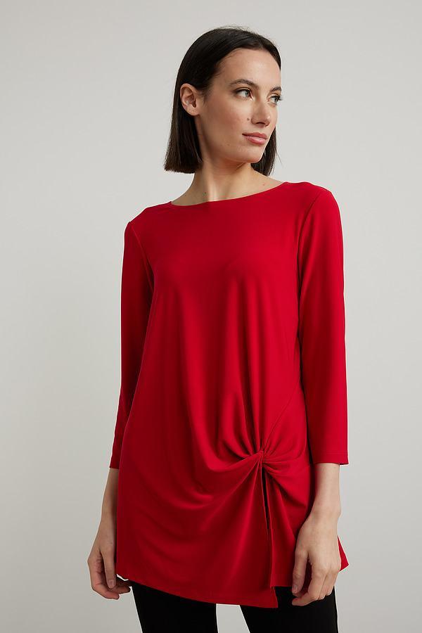 Joseph Ribkoff Lipstick Red 173 Tunics Style 213584