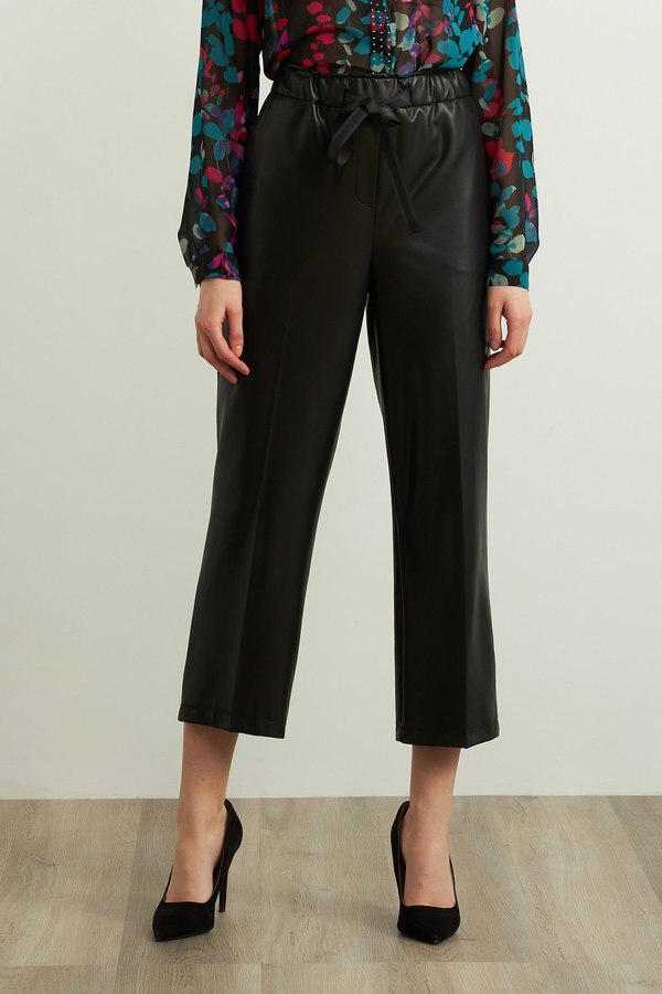 Joseph Ribkoff Black Pants Style 213587