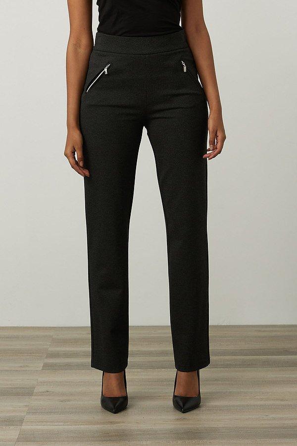 Joseph Ribkoff Flared Leg Pants Style 213589. Charcoal Grey