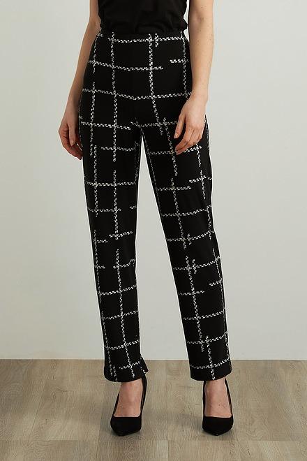 Joseph Ribkoff Check Print Pants Style 213591