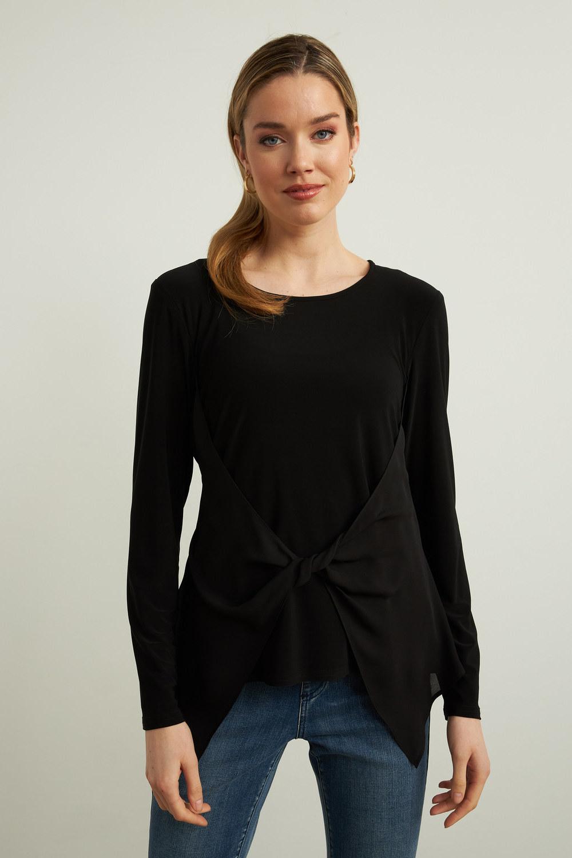 Joseph Ribkoff Chemises et blouses Noir Style 213601