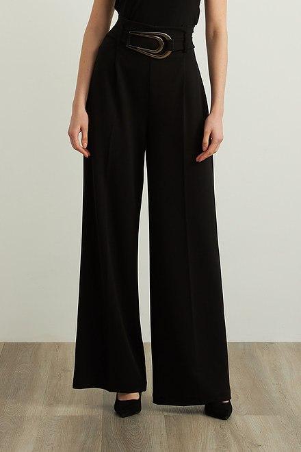 Joseph Ribkoff Crepe Wide Leg Pants Style 213611