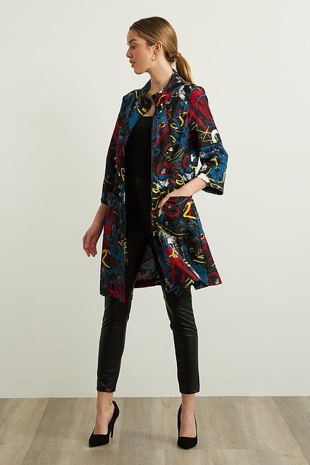Joseph Ribkoff Abstract Jacket Style 213623