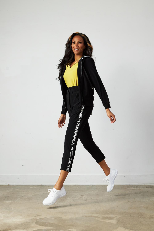 Joseph Ribkoff Black/Vanilla Pants Style 213627