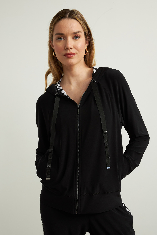 Joseph Ribkoff Black/Vanilla Jackets Style 213629