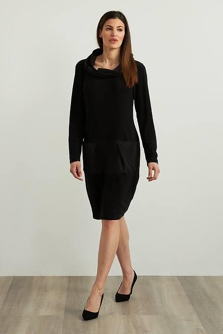 Joseph Ribkoff Black Dresses Style 213637