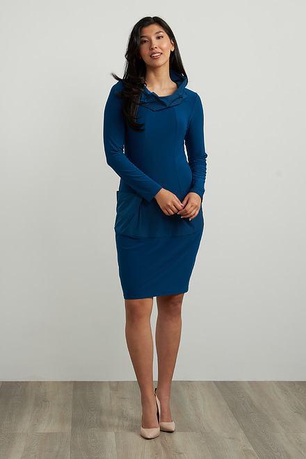 Joseph Ribkoff Tiered Detail Dress Style 213637