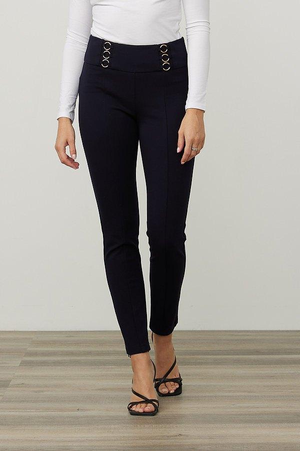 Joseph Ribkoff Slim Fit Pants Style 213651. Midnight Blue