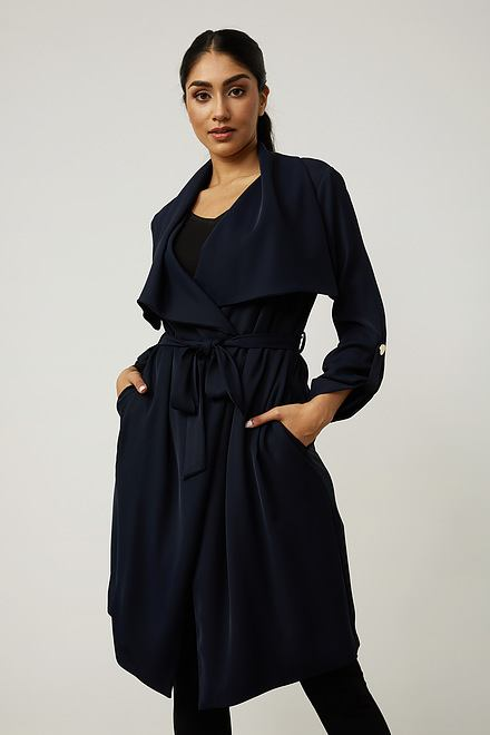 Joseph Ribkoff Long Belted Cardigan Style 213654
