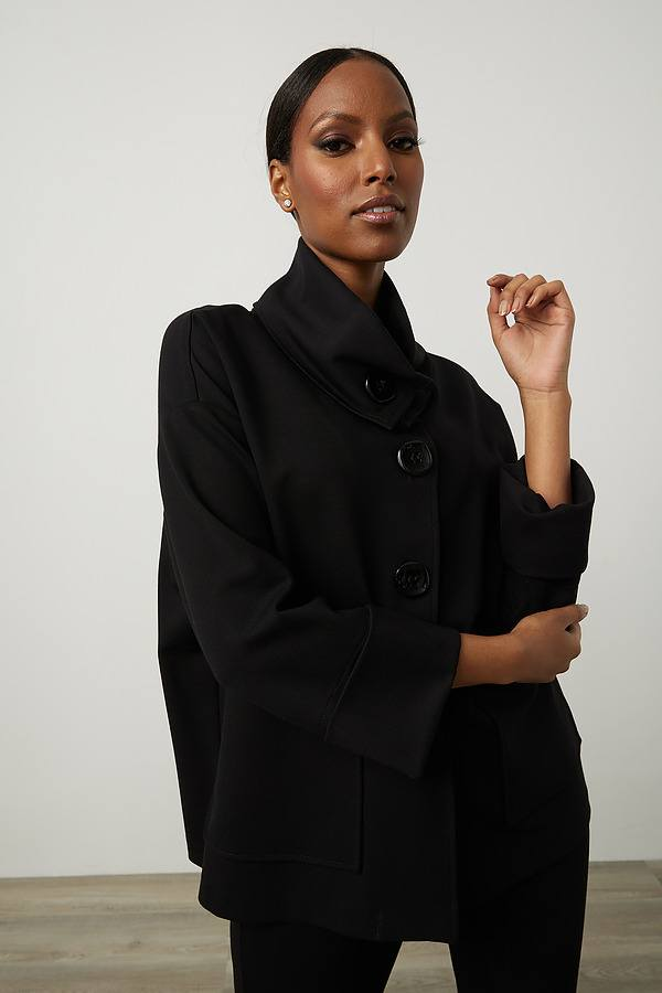 Joseph Ribkoff Black Outerwear Style 213665