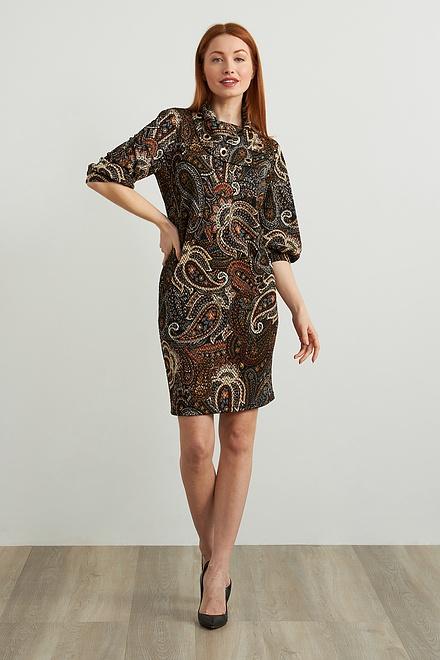 Joseph Ribkoff Printed Shift Dress Style 213679