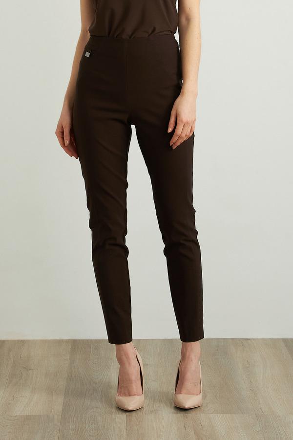 Joseph Ribkoff Slim Fit Pants Style 213702. Mocha