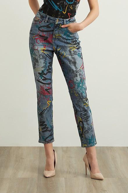 Joseph Ribkoff Slim Leg Jeans Style 213895