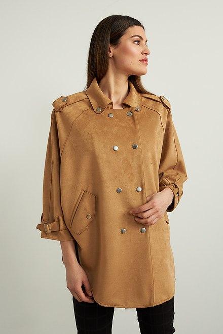 Joseph Ribkoff Faux Suede Jacket Style 213896