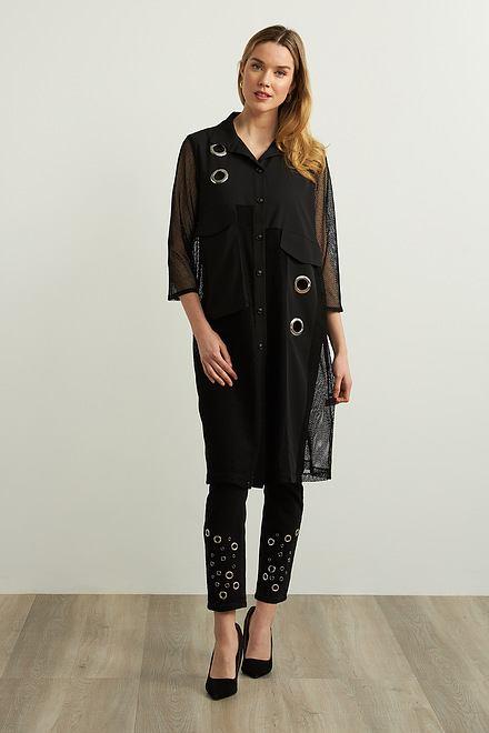 Joseph Ribkoff Grommet Detail Jeans Style 213917