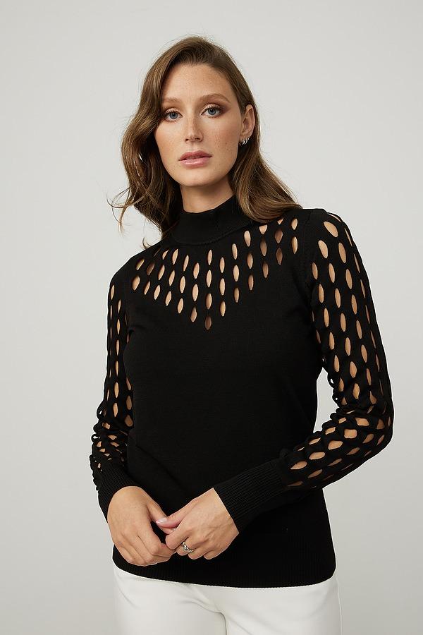 Joseph Ribkoff Tops Style 213939. Black
