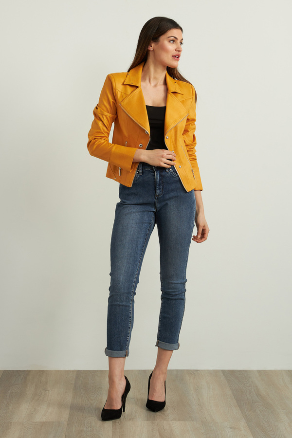 Joseph Ribkoff Denim Medium Blue Jeans Style 213942