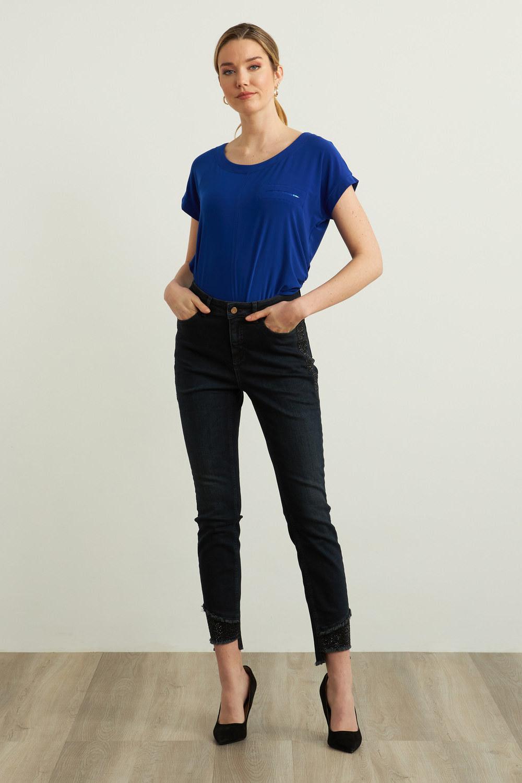 Joseph Ribkoff Indigo Jeans Style 213987