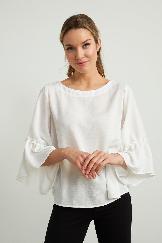 Joseph Ribkoff White Shirts & Blouses Style 212213