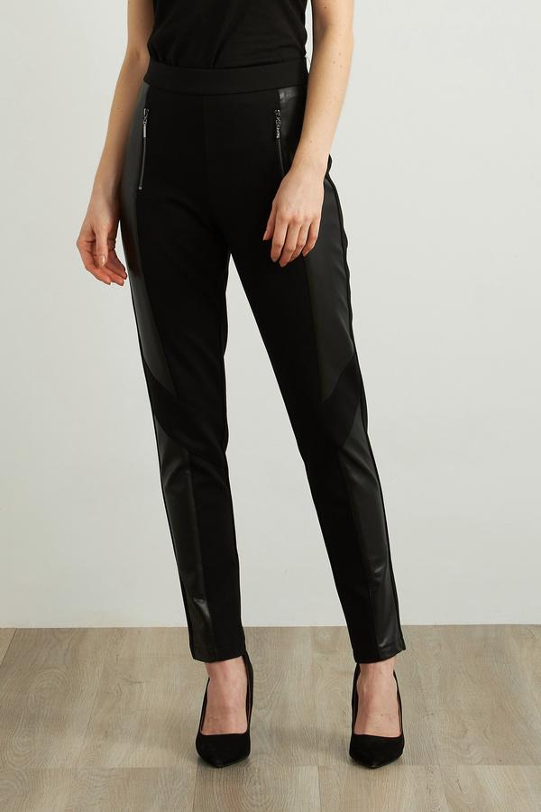 Joseph Ribkoff Faux Leather Pants Style 213385