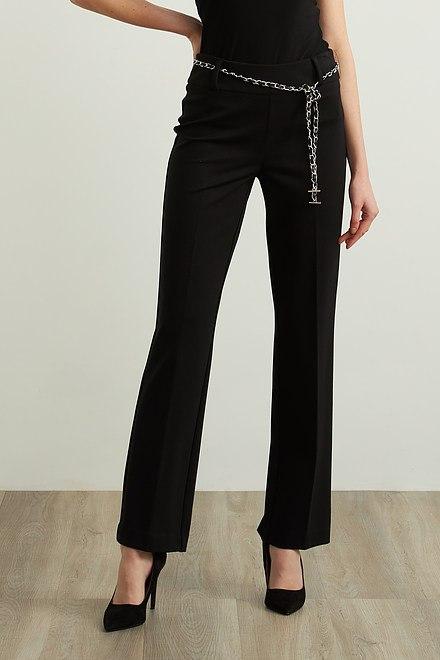 Joseph Ribkoff Black Pants Style 213613