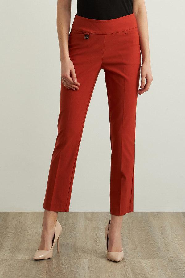 Joseph Ribkoff Cropped Pants Style 213294. Topaz