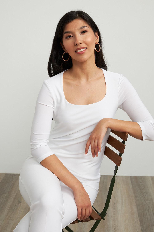 Joseph Ribkoff Chemises et blouses Vanille 30 Style 213569