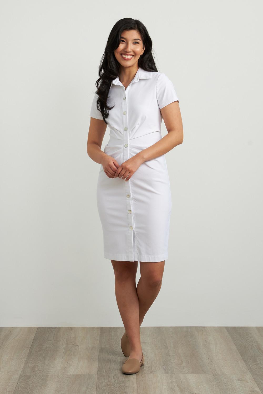 Joseph Ribkoff Robes Blanc Style 212118
