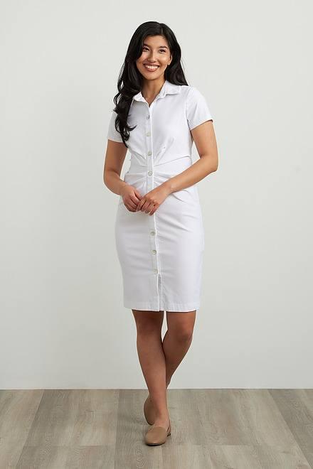 Joseph Ribkoff Short Sleeve Shirt Dress Style 212118