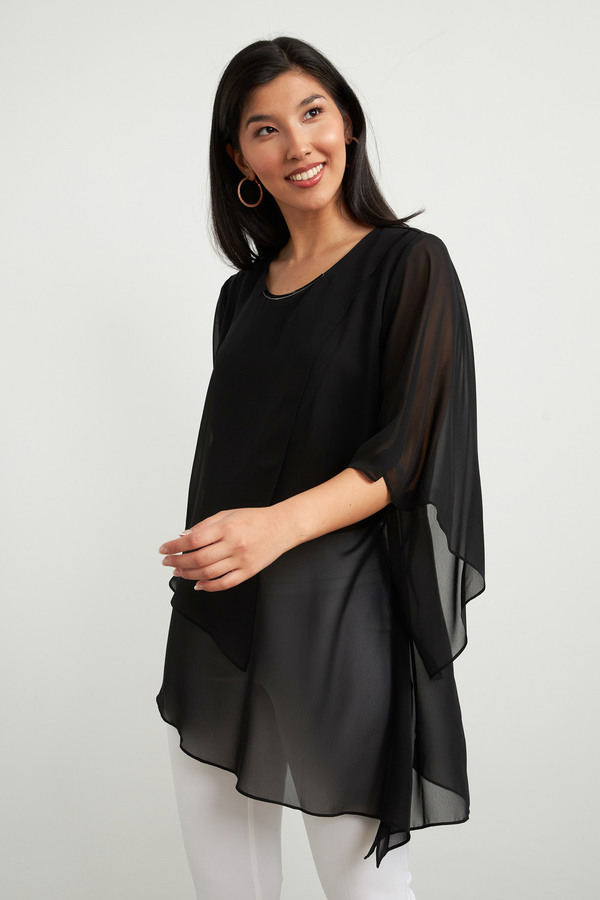 Joseph Ribkoff Black Tunics Style 212111