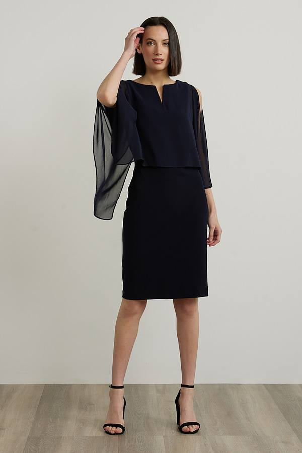 Joseph Ribkoff Robes Bleu Minuit 40 Style 212158