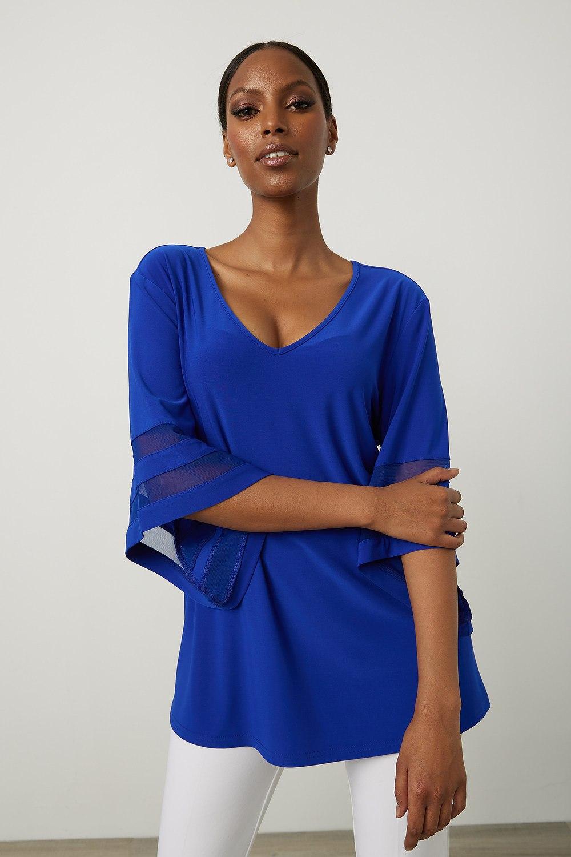 Joseph Ribkoff Chemises et blouses Saphir Royal 163 Style 213393