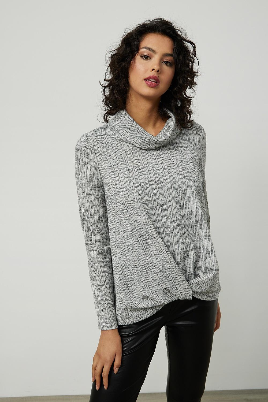 Joseph Ribkoff LIGHT GREY Shirts & Blouses Style 214052