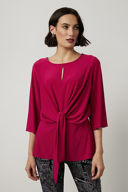 Joseph Ribkoff Belted Top Style 214114