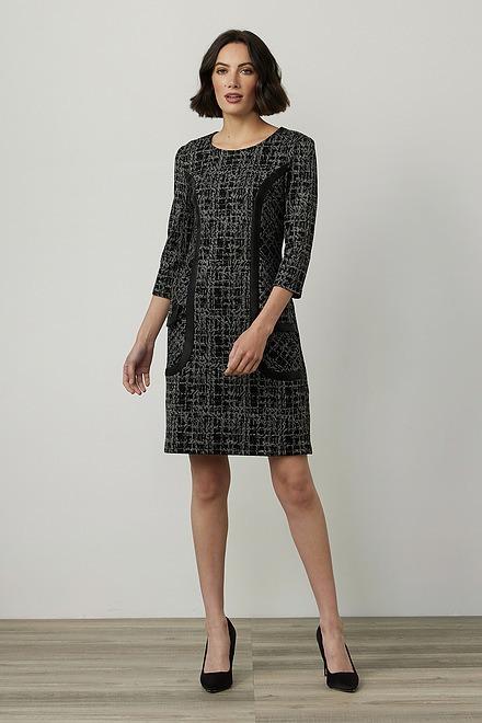 Joseph Ribkoff 3/4 Sleeve Printed Dress Style 214152