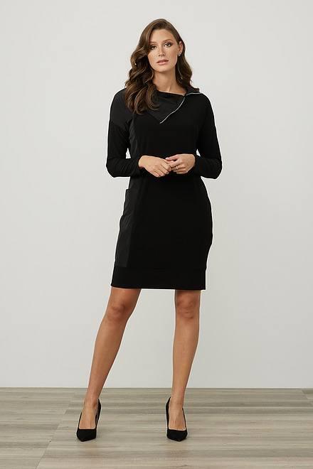 Joseph Ribkoff Mixed Panel Dress Style 214155