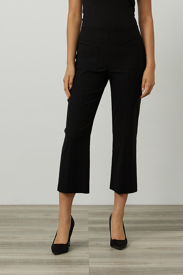 Joseph Ribkoff Pull-On Pants Style 214156. Black