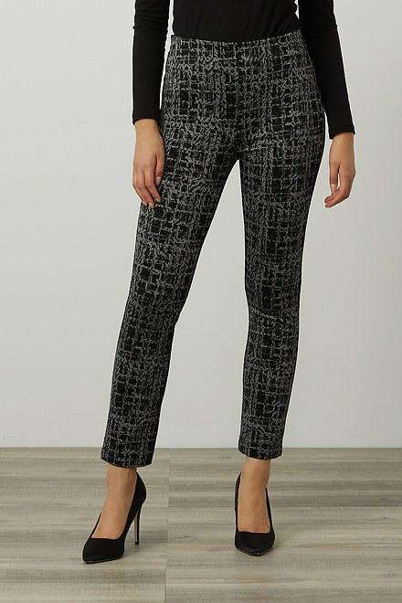 Joseph Ribkoff Jacquard Pull-On Pants Style 214185