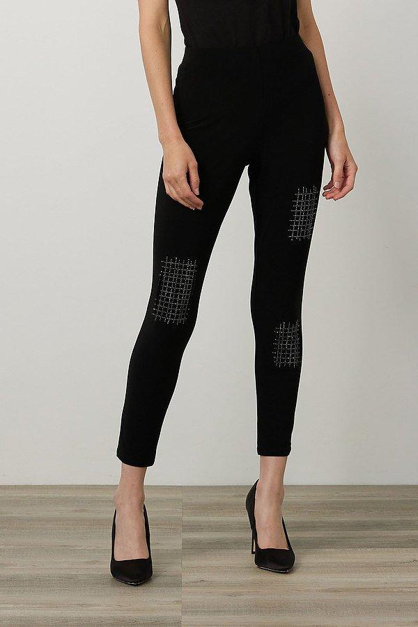 Joseph Ribkoff Embellished Leggings Style 214220. Black