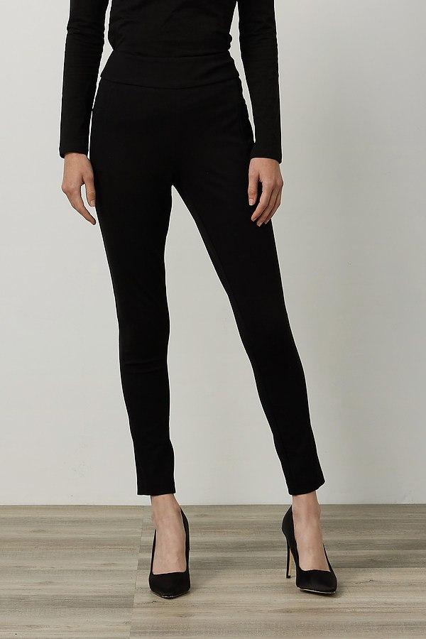 Joseph Ribkoff Straight Leg Pants Style 214222. Black