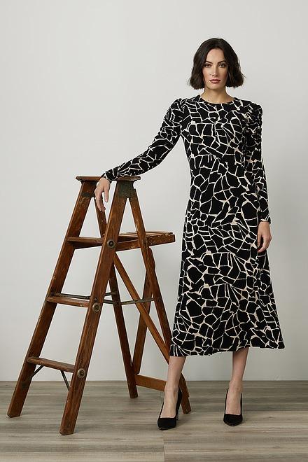 Joseph Ribkoff Abstract Print Maxi Dress Style 214237