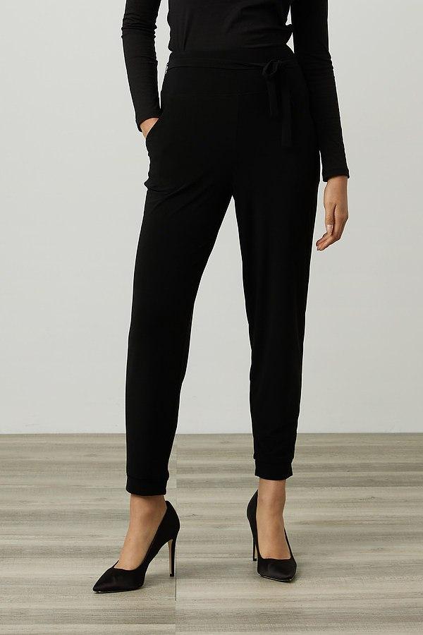 Joseph Ribkoff Drawstring Pants Style 214250. Black