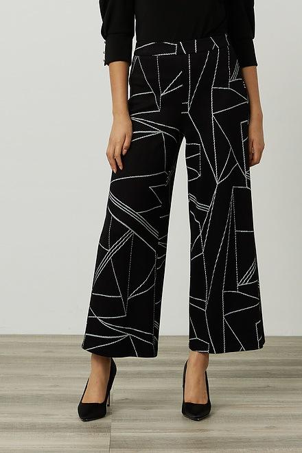 Joseph Ribkoff Geometric Wide Leg Pants Style 214251