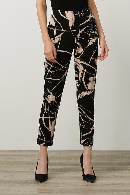 Joseph Ribkoff Cropped Printed Pants Style 214278