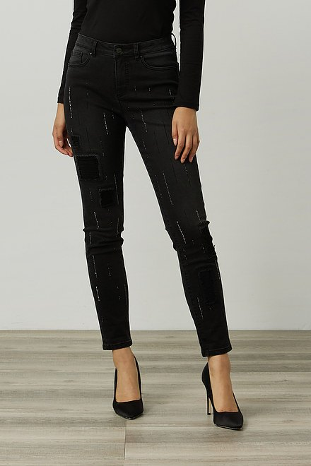 Joseph Ribkoff Embellished Jeans Style 214299