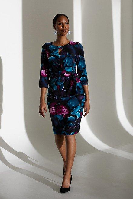 Joseph Ribkoff Robe à motif floral Modèle213720